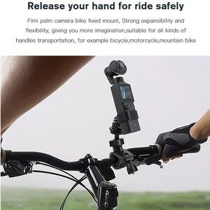 Image 4 - Kamera bisiklet montaj aksamı bisiklet motosiklet braketi tutucu FIMI palmiye eylem kamera standı çerçeve klip GoPro kamera için