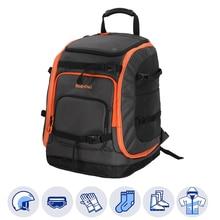 Bolsa para botas de esquí de 50L, mochila de viaje para casco de esquí, gafas, guantes, Skis, Snowboard y accesorios