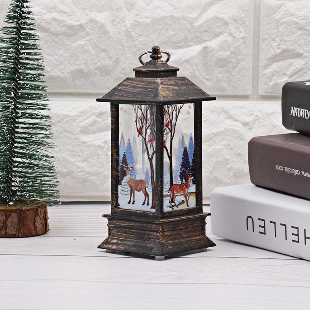 Горячие рождественские украшения для дома светодиодный 1 шт. Рождественская свеча с светодиодный свет чая свечи для Рождественского украшения# N - Испускаемый цвет: A