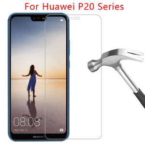 case for huawei p20 lite cover tempered glass screen protector on huwei p 20 p20lite light pro p20pro protective coque huaweip20(China)