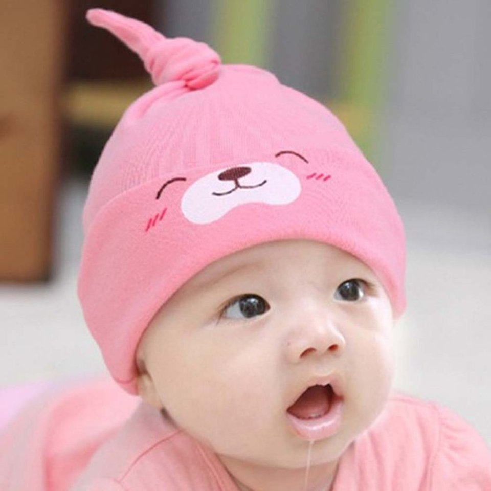 Hot Smile Cute Sleeping Cotton Chapeau Knitted Hats Comfortable Accessories Cotton Baby For Newborn Infant Girls Hats Caps Aliexpress