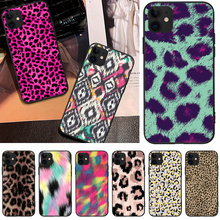 OFFeier Leopard print DIY Luxury Phone Case For iPhone 5 6 6S 7 8 plus X XS XR XS MAX 11 11 pro 11 Pro Max offeier love and hope girl diy luxury phone case for iphone 5 6 6s 7 8 plus x xs xr xs max 11 11 pro 11 pro max