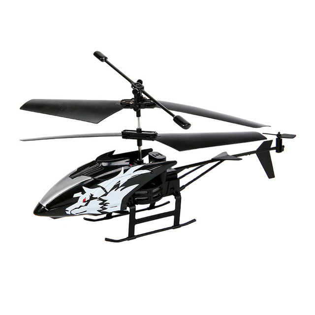 Wireless Remote Control Alloy Aircraft Helicopter Toy Children Plane Toys Nti-Collision 2 Channels RC Toy Kids Birthday Gift 5