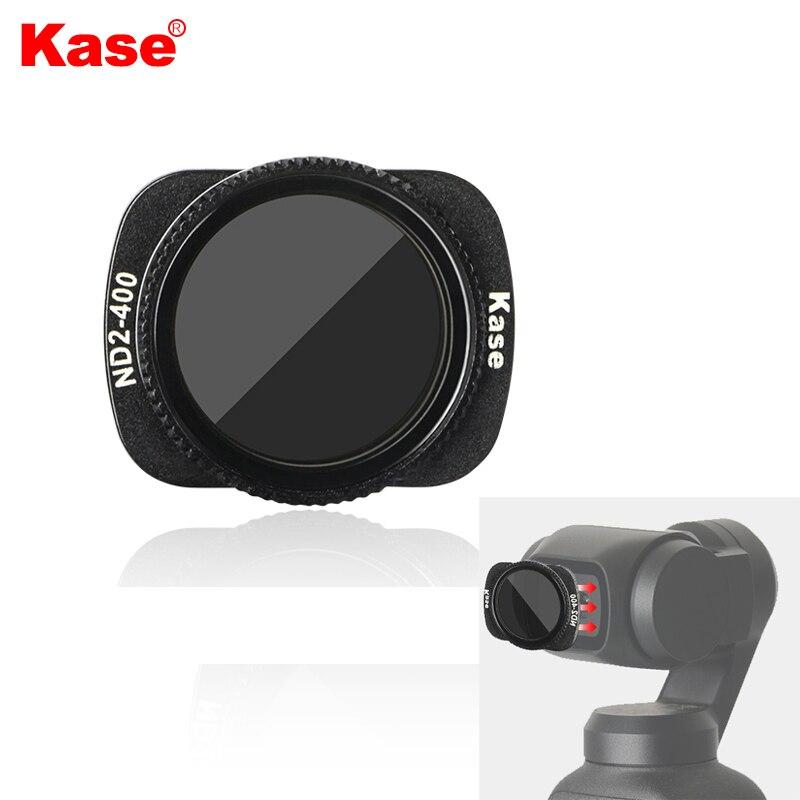 Kase Variable MC ND VND filtre à densité neutre ND2-400 verre optique de conception magnétique pour caméra de poche DJI OSMO