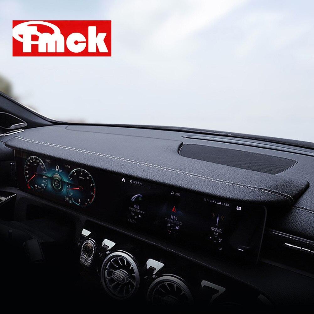 For Mercedes Benz CLA Class C118 CLA180 200 220 250 260 2020 Car Accessories Dashboard Navigation Screen Shading Sun Shade Board
