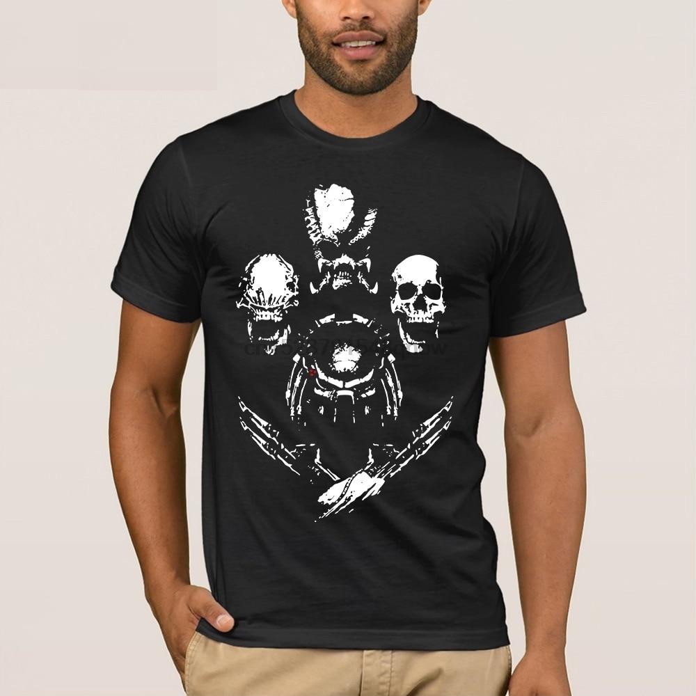 Vitruvian Hunters Men/'s T-shirt  Alien vs Predator  AVP  Sci-fi movies