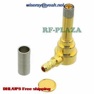 Image 1 - DHL/EMS 100pcs Connector MS156 stekker crimp RG174 RG316 LMR100 kabel haakse A3