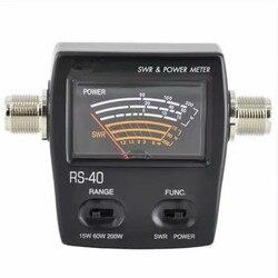 200W SWR współczynnik fali stojącej Watt miernik mocy dla HAM komórkowy VHF... jednofazowy liczników energii elektrycznej