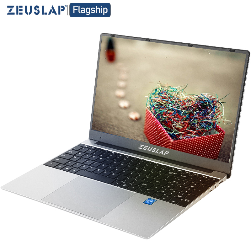 15.6 Inch Laptop Ultrabook Intel Quad Core Win10 8GB RAM 1TB 512GB 256GB 128GB SSD Notebook Computer Laptop