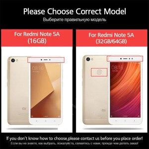 Image 5 - Protecteur décran 3 pièces en verre trempé pour Xiaomi Redmi Note 5 7 8 6 Pro 5A 6 pour Redmi 5 Plus 5A 6A Film de protection en verre complet