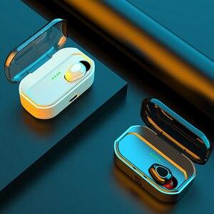 Bluetooth 5,0 наушники 3500 мАч зарядная коробка беспроводные наушники 9D стерео спортивные водонепроницаемые наушники гарнитуры с микрофоном