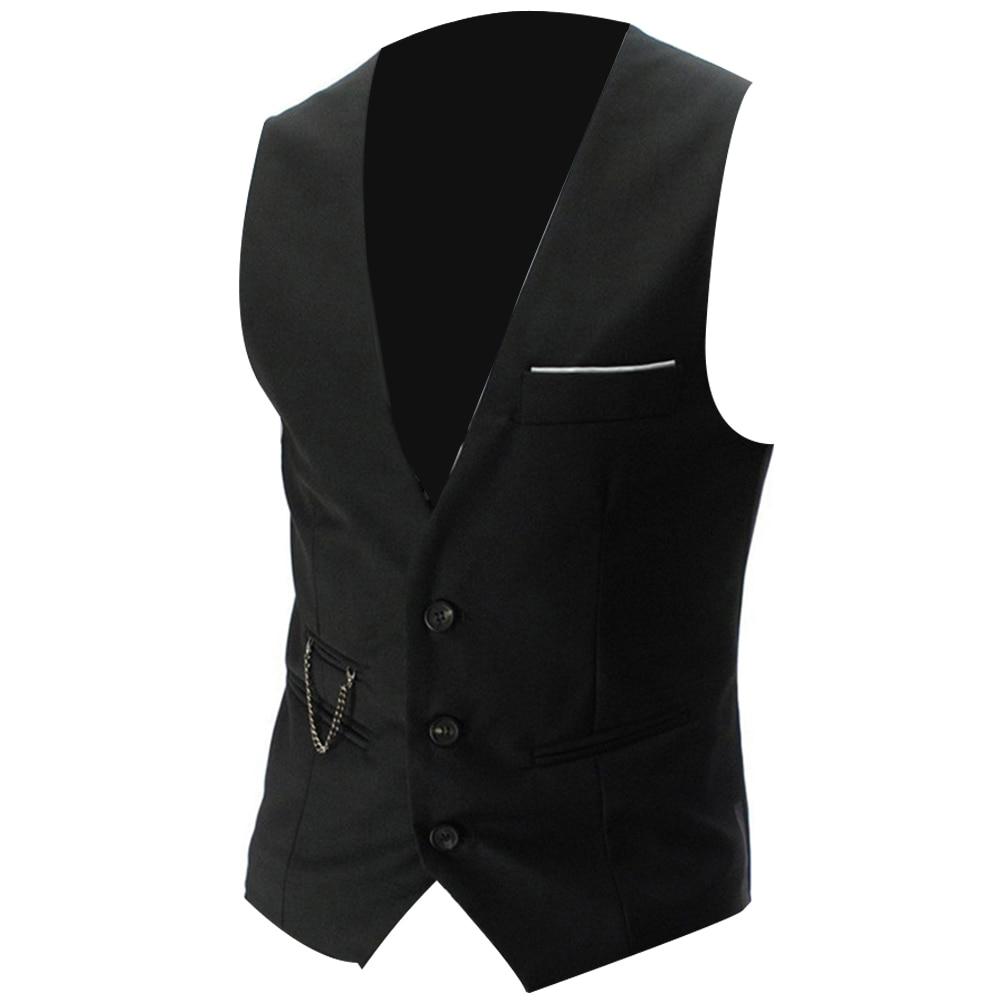 H89e31e76a44641d9871cf71b91be5c2dr - 2020 New Arrival Casual Sleeveless Formal Business Jacket Dress Vests For Men Slim Fits Mens Suit Vest Male Waistcoat Homme