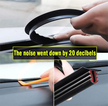 Auto Seals Windshield Dashboard Soundproof for renault espace 4 laguna 3 opel astra k antara insignia bmw e34 renault scenic image