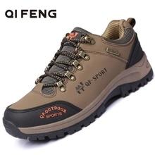 Waterproof Sneakers Hiking-Shoes Trekking Mountain-Climbing Outdoor Male Sports Winter