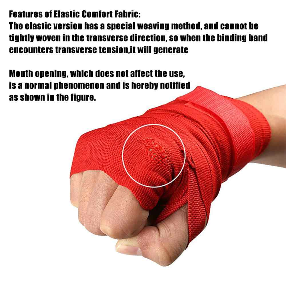 Boxing Wrist Bandage Combat Hand Wrap Grip Training MMA Muay Thai Kickboxing