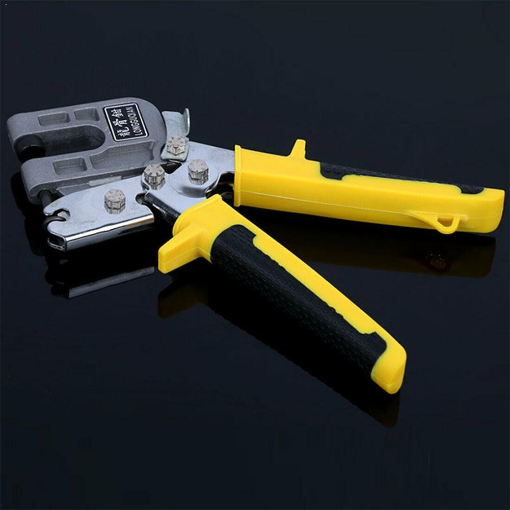 Metal Keel Clamp Ceiling Keel Riveting Clamp Industrial Plier Studs Plaster Drywall Nailless Crimper Decorative Board Faste O2K9