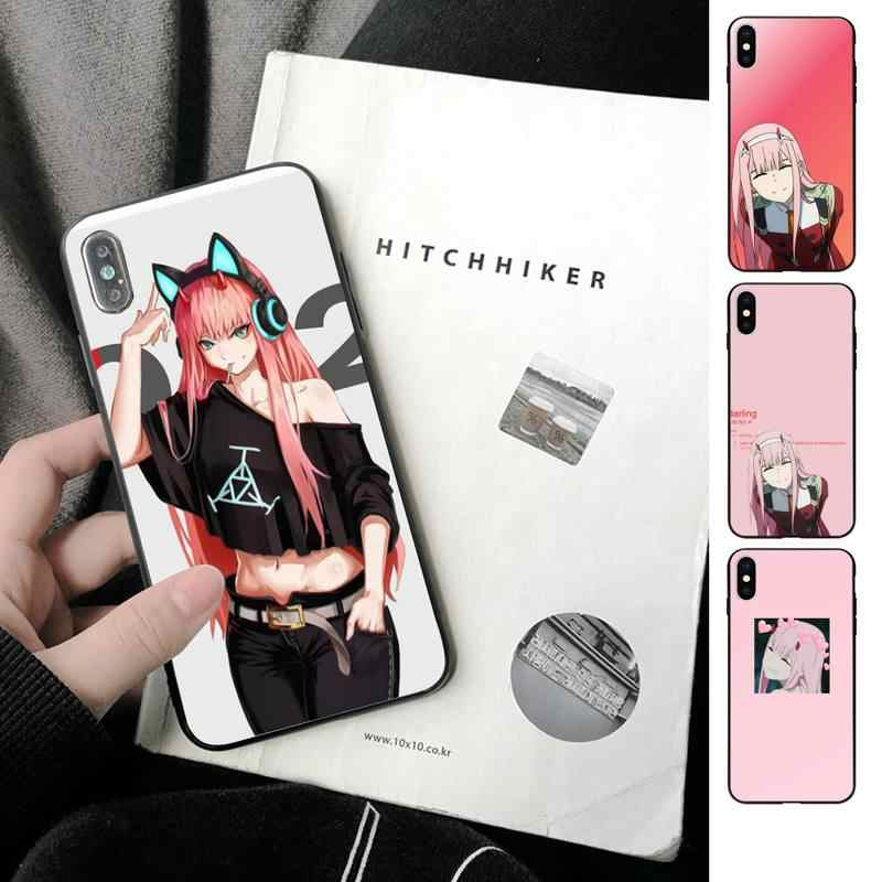 Original Darling Zero Two Wallpaper Phone Case For Iphone 11 Pro Max Xr Xs Max 6s 8 7 Plus Cover Soft Tpu Phone Case Covers Aliexpress