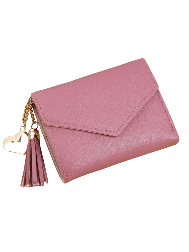LMJZ PU Wallet Card-Bag Pendant Coin-Purse Tassel Small Fashion Student Women Cute Ladies