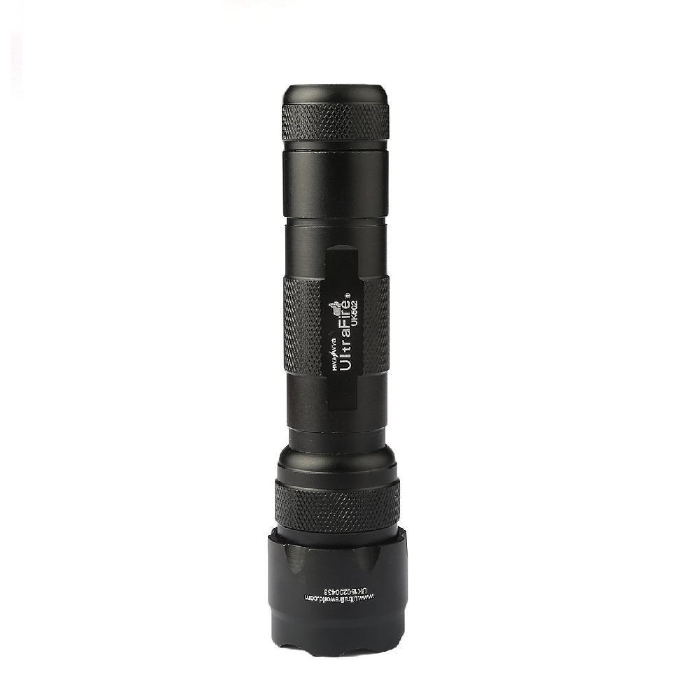 HiMISS Ultrafire Wf-502b Cree Xm-l T6 Led Bulb 1000lm 5 Mode Flashlight Torch Tactical