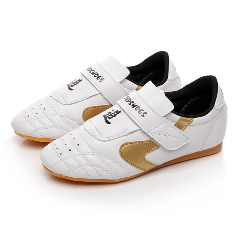 Taekwondo Shoes Child Aadult Comfortable Outsole Breathable Martial Aarts Shoes Man Women Training Shoes White