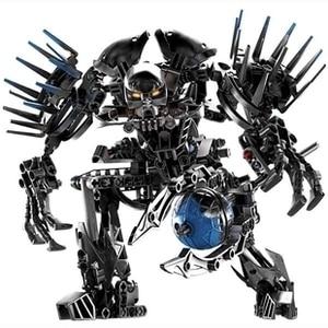 Image 5 - Out of print Hero Factory StarWar Soldiers Robots  Hero Factory 4 5 6 Von Nebula Bionicle DIY Bricks Toys