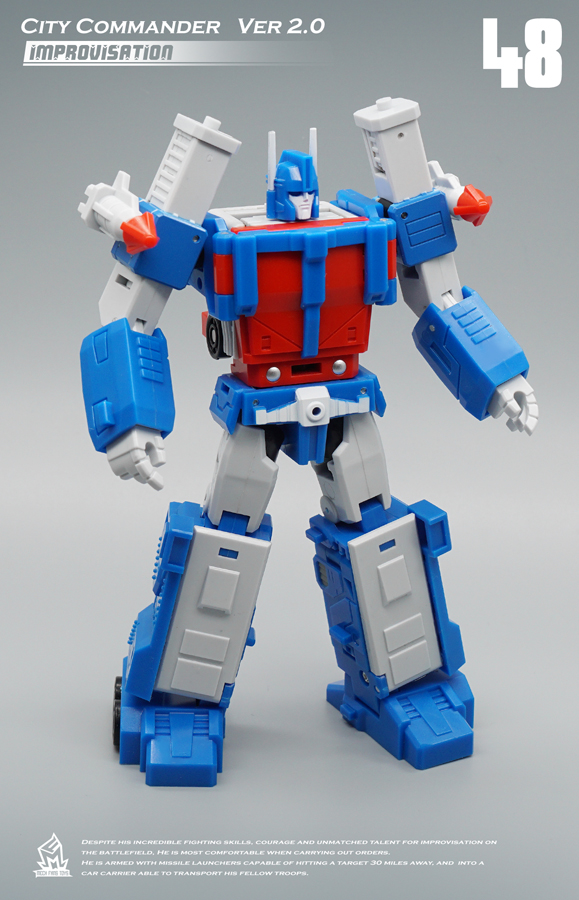 Image 2 - MFT Transformation MF 48 MF48 Ultra Magnus UM Ver2.0 City Commander Action FIgure Robot Toys-in Action & Toy Figures from Toys & Hobbies