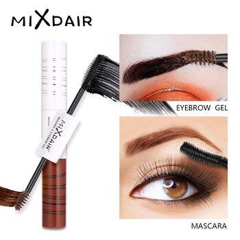MIXDAIR Silky Mascara Eyebrow Gel Dual Use Curling Thick Lengthening Mascara Volume Extension Eye Lash Brush Waterproof Cosmetic
