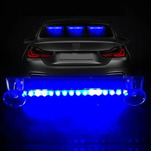 16 светодиодный беспроводной Автомобильный светодиодный светильник s автомобильный Солнечный мигаПредупреждение ющий светильник Авто супер яркий красочный Универсальный Декор интерьера