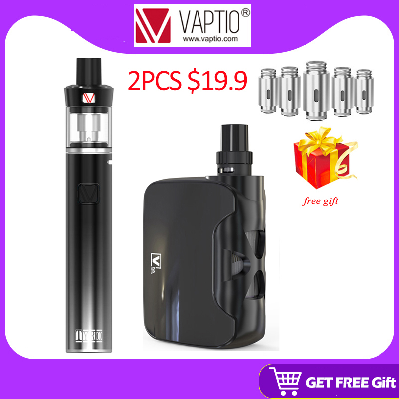 50W Vape Kit 1500mAh Fusion All In One Vaporizer 2.0ml Built In Battery Electronic Cigarette Box Mod 0.25ohm Built In Atomizer