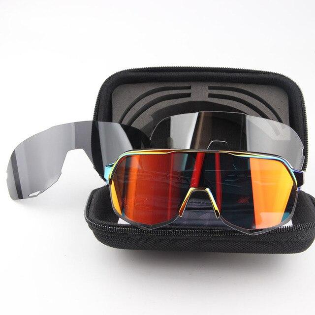 Óculos de ciclismo s2 homem óculos de ciclismo mountain bike ciclismo eyewear uv400 peter sagan equitação óculos de sol acessórios 2