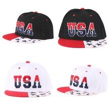 Letter USA Embroidery Visor Transformer Super Solid Leather Baseball Cap Streetwear Hip Hop Bone Gorras Summer Outdoor Activity