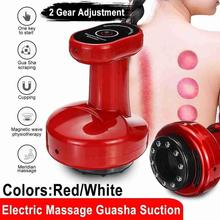 Electric Cupping Massager Vacuum Suction Cups Apparatus Scraping Device Meridian Anti Cellulite Fat Burning Body Slimming