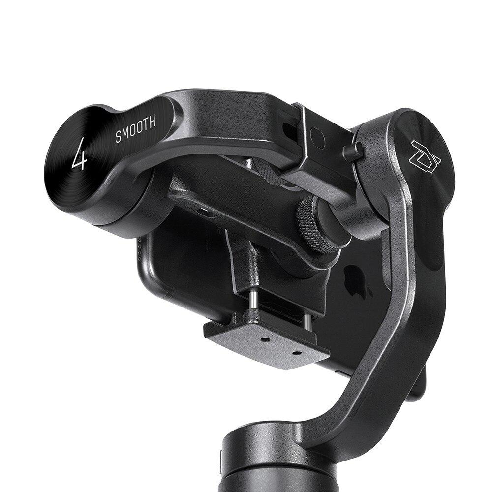 Estabilizador cardán manual Hohem istey Pro 2 de 3 ejes para GoPro Hero 7/6/5/4 /3 de Sony RX0 para DJI Osmo acción y SJCAM y YI - 4