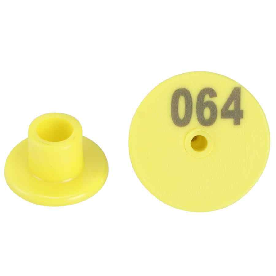 100pcs Livestock Number Ear Tag Label Marker Accessory For Pig Cow Sheep Anim RH