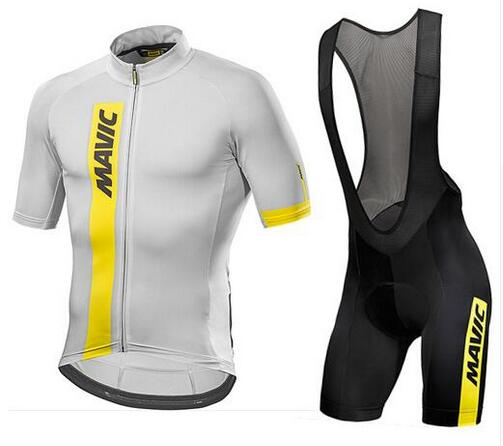 Mavic 2020 Pro Team Cycling Clothing /Road <font><b>Bike</b></font> <font><b>Wear</b></font> Racing Clothes Quick Dry Men's Cycling Jersey Set Ropa Ciclismo Maillot image
