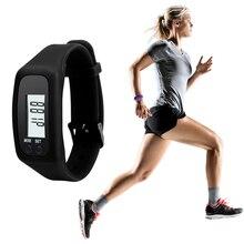 Удобные Многофункциональные цифровые ЖК-часы с аккумулятором, шагомером, счетчиком калорий, шаговой дистанции, фитнес-часы