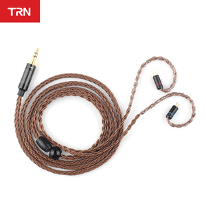Image 3 - TRN Cable T2 16 Core Silver Plated CABLE HIFI Upgrade Cable MMCX/2Pin Connector For TRN V90 BA5 V80 T2 C10 C16 ZS10 AS10 S2