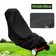 Lawn Mower Cover 600d Polyester Oxford Waterproof Uv Protection Universal Fit with Drawstring Cover Storage Bag Farming Cover