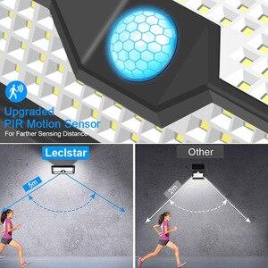 Image 2 - Lampe LED avec capteur de mouvement, à énergie solaire, étanchéité 128/268, éclairage de sécurité extérieur pour porche/jardin/rue/applique murale
