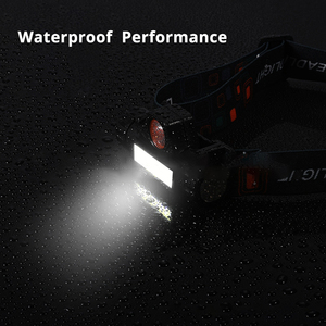 Image 4 - Chống Nước LED COB Công Việc Nhẹ 2 Chế Độ Đèn Có Nam Châm Đèn Pha Gắn Trong 18650 Pin Phù Hợp Cho Câu Cá, cắm Trại, V. V...