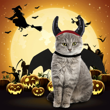 Halloween Pet Costumes for Dogs/ Cats One Set Bat Wing and Hat Dog Cat Decorative Cap  Clothes Supplies