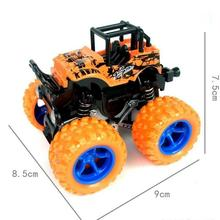 Kids Toys Monster Truck Durable Toys Car Kids Anti Shock 360 Degree Flipping Vehicles Inertia Easy Operate Friction Powered