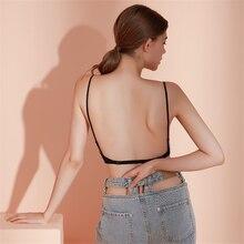 3 вида стилей, сексуальный бюстгальтер, красивое нижнее белье u-образной формы с большой открытой спиной, бесшовное нижнее белье с эффектом п...