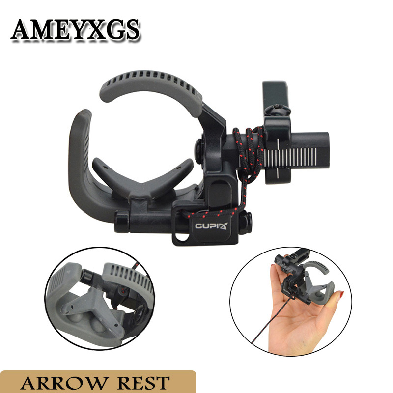 Arrow Bow Drop Rest Adjustable High Speed Away Quick Easy Installation Archery Hunting Shooting