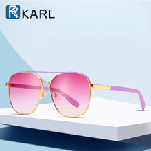 New Color Sunglasses Women Fashion Personality Gradient Lens Pink Luxury Brand Shades for