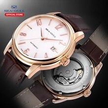 Seagull montre mécanique automatique, bracelet Simple, étanche pour homme, modèle 2020, montre pour hommes, nouveau modèle 519.615