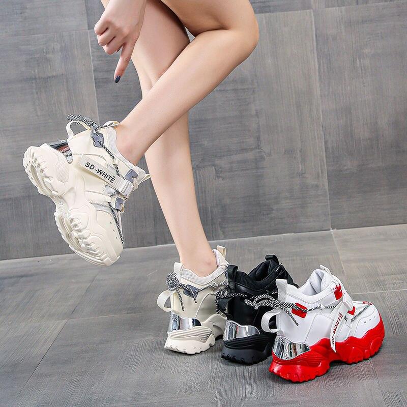 Женские кроссовки для папы Новинка весна осень 2020 универсальная
