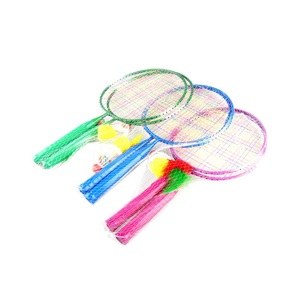 Badminton Tennis Rackets Balls Set Children Kids Outdoor Sports Educational  Sports Toys for Children Boys Girls(Random Color)|Badminton Rackets| -  AliExpress