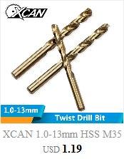 XCAN 1 шт. M2/M2.5/M3/M3.5/M4/M5/M6 титановое покрытие ручной кран HSS Метрическая прямая флейта резьбовой кран