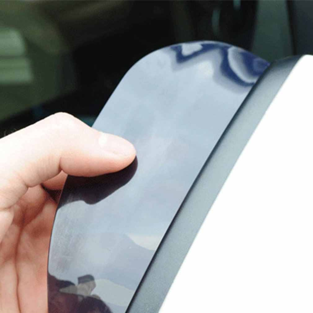 سيارة مرآة الرؤية الخلفية المطر الحاجب سيارة مع مرآة مرآة الشمس قناع سيارة قناع شفاف 1 زوج اكسسوارات السيارات